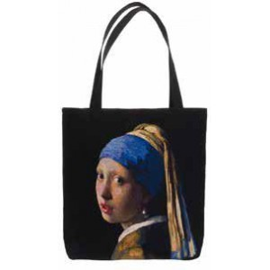 Big Bag taška  - Girl with a Pearl Earring by Vermeer