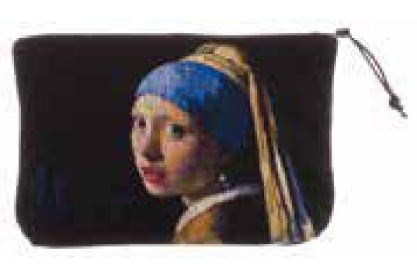 Kosmetická taška  - Girl with a Pearl Earring by Vermeer