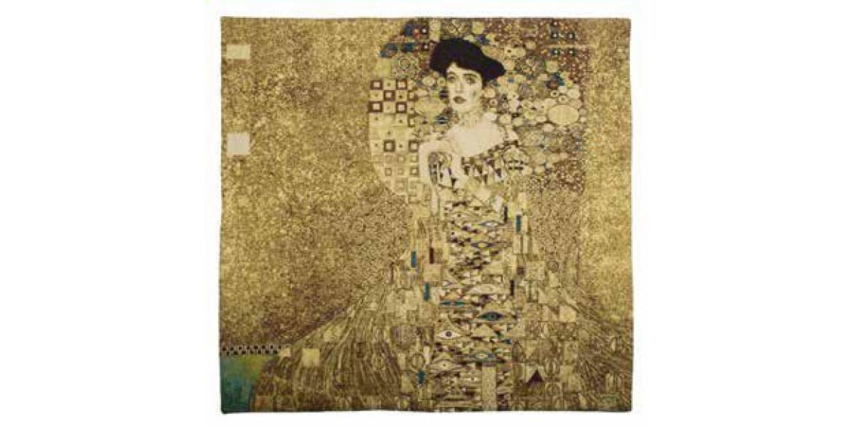 Gobelín  - Adele Bloch Bauer by Gustav Klimt