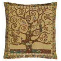Gobelínový povlak na polštář  - Tree of life by Gustav Klimt