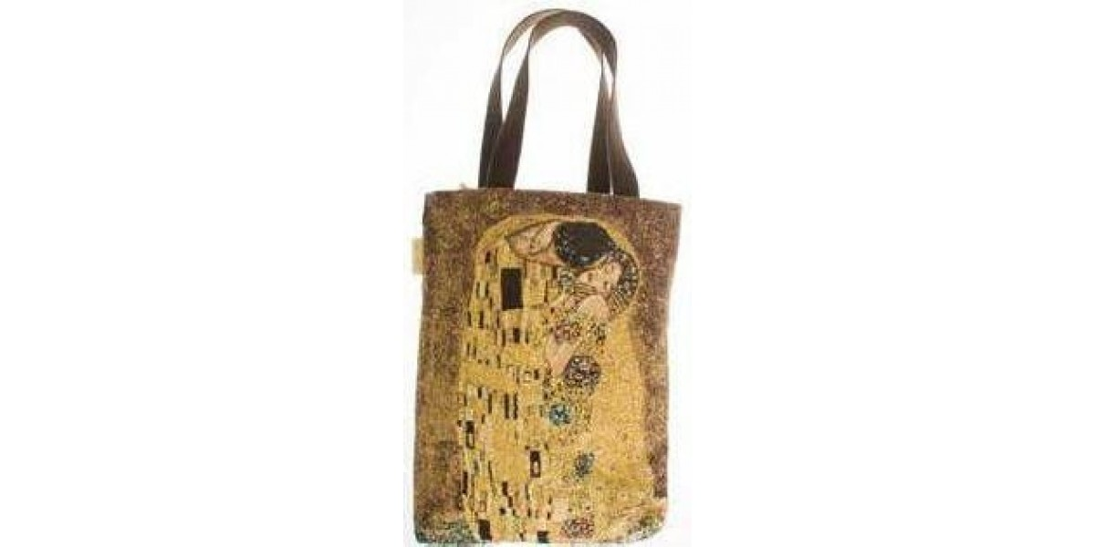 Taška Big Bag   - Le Baiser by Gustav Klimt