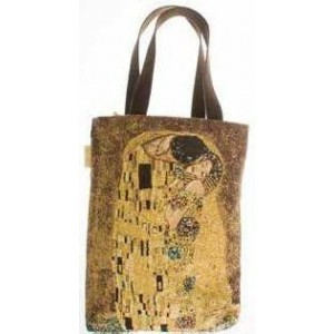 Shop Bag taška  - Le Baiser by Gustav Klimt