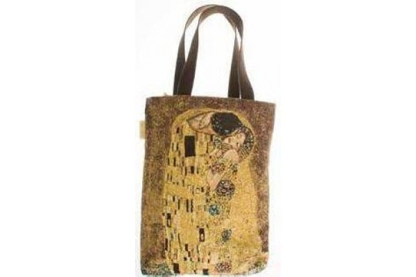 Big Bag taška  - Le Baiser by Gustav Klimt