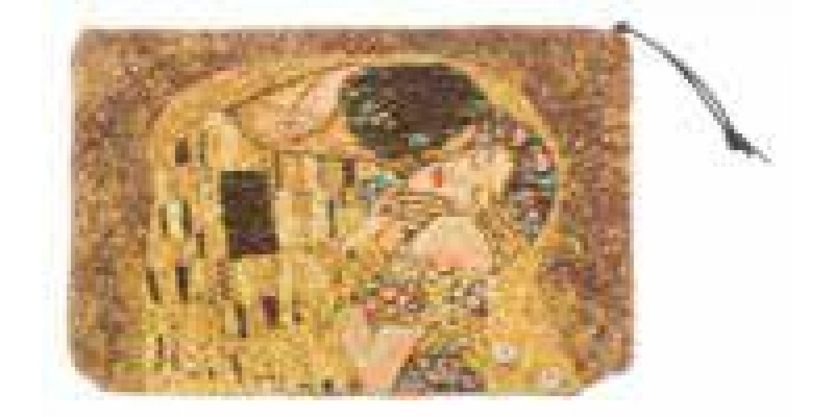 Kosmetická taška  - Le Baiser by Gustav Klimt