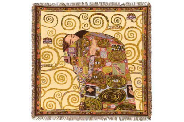Gobelín Ubrus  -  Accomplissement by Gustav Klimt