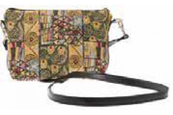 Dámská kabelka přes rameno - Le Baiser by Gustav Klimt