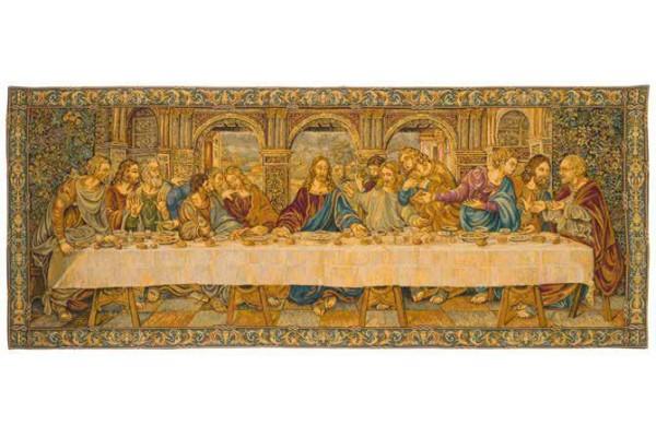 Gobelín  - La dernière scène by Leonardo Da Vinci