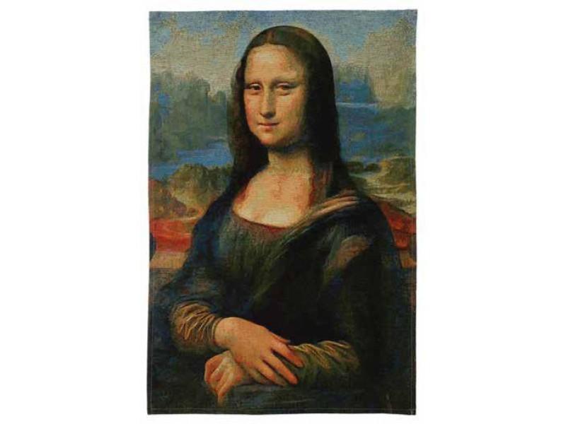 Gobelín  - Mona Lisa by LEONARDO DA VINCI