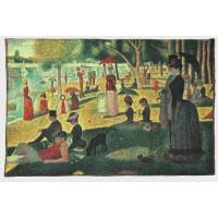 Gobelín  - Dimanche d'été à la Grande Jatte  by Georges Seurat