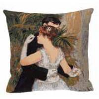 Gobelínový povlak na polštář  - Danse à la ville by Renoir
