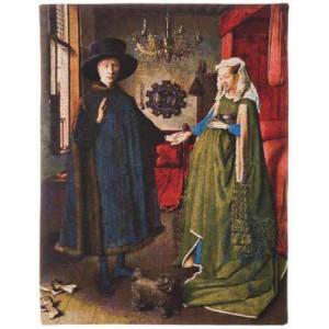 Gobelín  -  Banker Arnolfini by Jan van Eyck