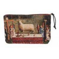 Kosmetická taška  - L'adoration by Jan van Eyck