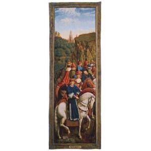 Gobelín  -   Just Judges by Jan van Eyck