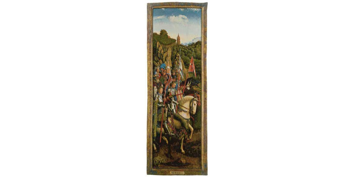 Gobelín  -   Knights of christ by Jan van Eyck