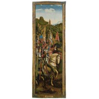 Gobelín  -   Knights of christ by Jan van Eyck