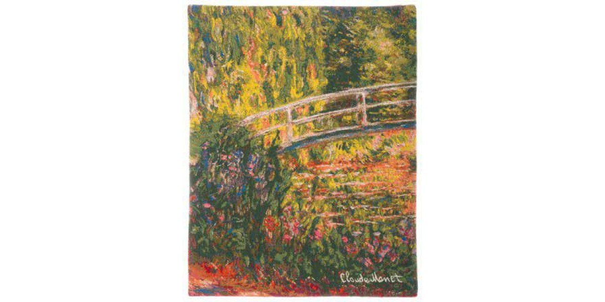 Gobelín  - Pont de Giverny multico by Monet