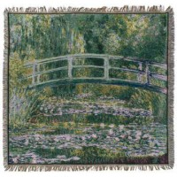 Gobelín Ubrus  - Pont de Giverny by Monet