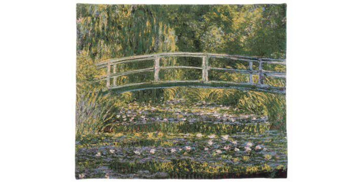 Gobelín  - Pont de Giverny II by Monet