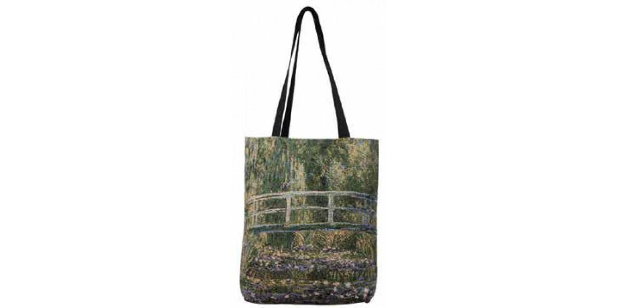 Big Bag taška - Pont de Giverny by Monet