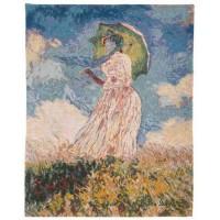Gobelín  - Femme à l'ombrelle by Monet