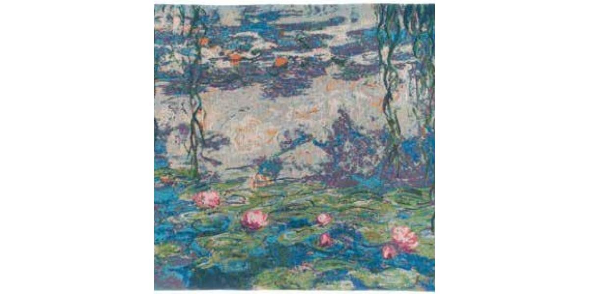 Gobelín  - Nymphéas  by Monet