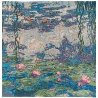 Gobelínový povlak na polštář  - Nymphéas by Monet