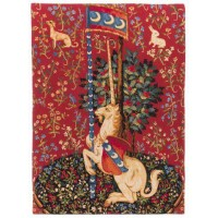 Gobelín  - Licorn by Museum  Moyen Age - Hôtel de Cluny